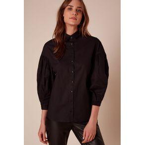 Camisa Ella Preto